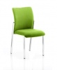 Academy Bespoke Colour Fabric Back With Bespoke Colour Seat Without Arms myrrh Green