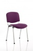 ISO Chrome Frame Bespoke Colour Fabric - (Min Order Qty X 4) Tansy Purple