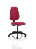 Eclipse II lever Task Operator Chair Wine Without Arms